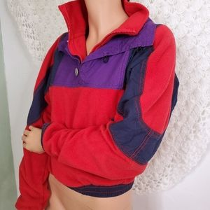 Urban Outfitters 90s Bomber Fleece Jacket